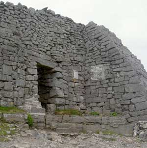 The hill fort on Inis Mor known as Dun Aenghus - photos by Stephen Hartshorne except as noted