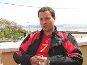 John Heagney of Cycle Holidays Ireland - photo by Jennifer Sotham