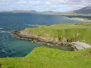 View from the cliffs in Tully