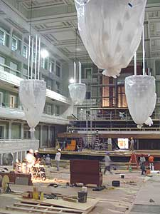 The new Schermerhorn Symphony Center under construction - photos by Sony Stark