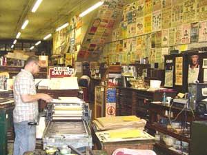 Hatch's Show Print Shop