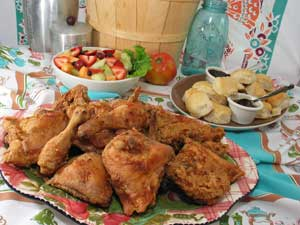 The Loveless Cafe's famous fried chicken