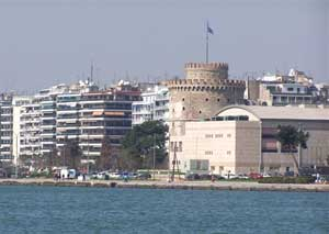 Standing directly above the waterfront, the White Tower is Thessaloniki's most pictured landmark.