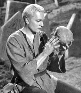 Laurence Olivier as Hamlet - file photo