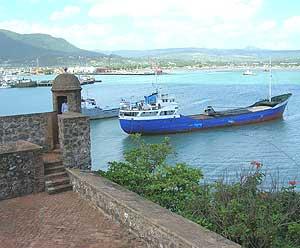 Fort San Felipe and Puerto Plata harbor
