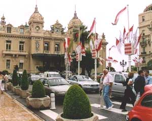 View of the world famous Monte-CarloCasino