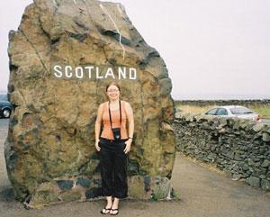 The Scotland Stone