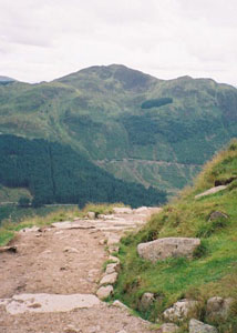 The Ben Nevis trail