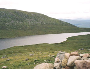 The loch at the halway point