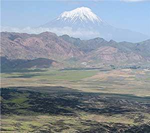 Mount Ararat from afar