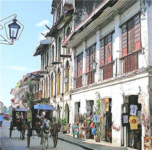 A street in Vigan