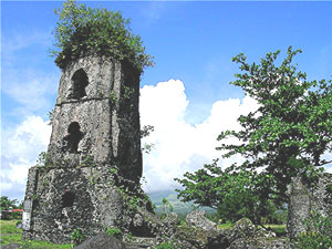 Ruins at Cagsawa