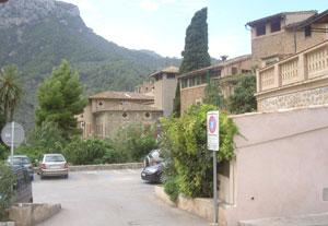 A street in Deia, Mallorca.