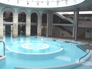 The water palace at Mondariz Balneario