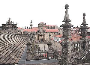The rootops of Santiago de Compostela