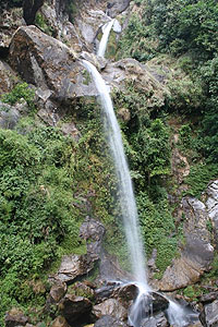 The Seven Sisters Waterfall in Sikkim - photos by Mridula Dwivedi