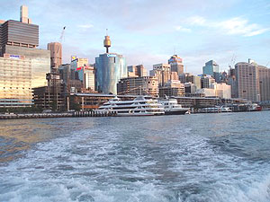 The Ssydney skyline