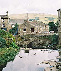 The village of Hawes