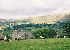 The yorkshire dales camping in wallace and gromit country gonomad the view from the creamery in hawes photos by charlotte turner fandeluxe Gallery