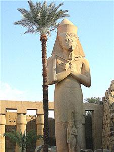 Statuary at Karnak