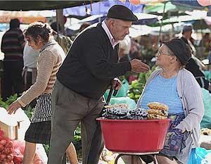 The market in Barcelos