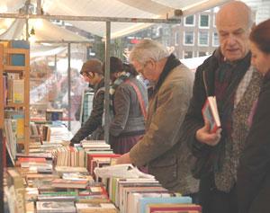 The Amsterdam Book Market - photos by Elizabeth Bagley