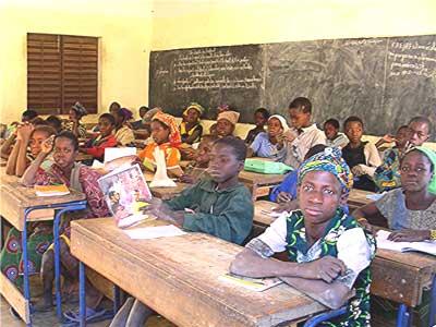 A classroom in Timbuktu