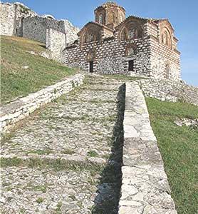 The Church of the Holy Trinity in Berati