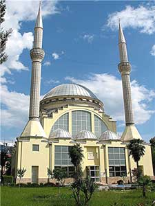 A mosque in Shkoder