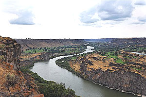 The Snake River Canyon