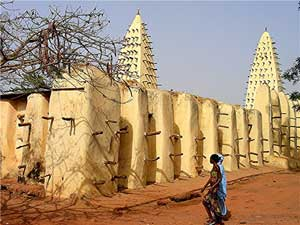 The Grand Mosque in Bobo-Dioulasso - photos by David Rich
