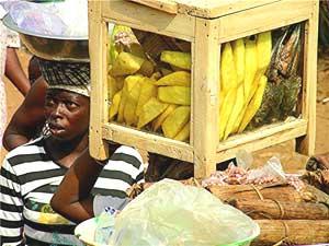 Hawkers in Ouagadougou