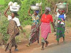 Walking the road to Ouagadougou