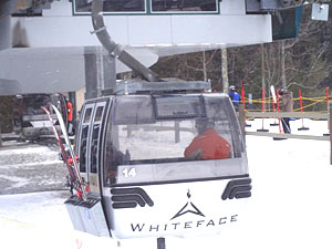 The Cloudsplitter is the fastest gondola in North America.