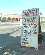 Rancho Merengue provides a home for merengue típico music, and a place where you can hear the style all week long.