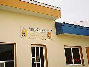 The well advertised Turk's head brewery.