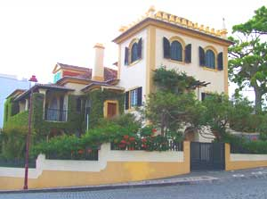 This house in Ponta Delgada is a superb example of the unique architecture of the Azores.