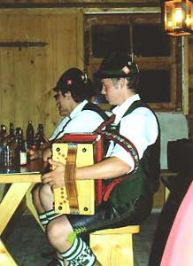 Musicians at the Woodcutter's Museum