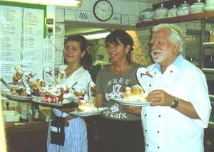 Desserts at Windbeutelgräfin