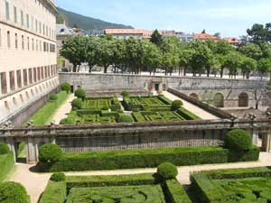 Gardens of the Monasterio de El Escorial