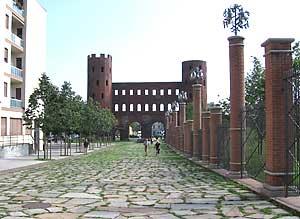 6Roman Wall - Northern Gate of Torino