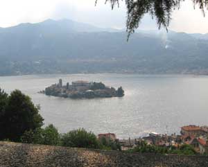 Isola San Giulio from the Sacro Monte