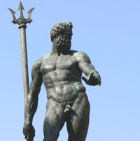 Poseidon in the Piazza Magiorre.