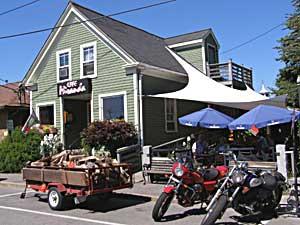 The Cafe Miranda - photo by Kent St. John