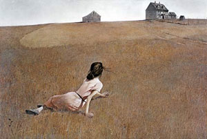 'Christina's World' by Andrew Wyeth