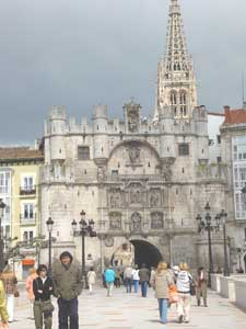 The entrance to Burgos Plaza