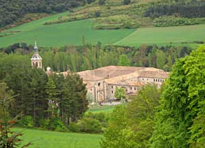 A monastery in Navarro