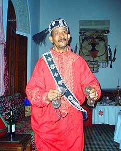 A gnawa musician