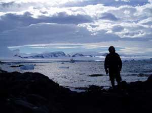 Evening in Antarctica