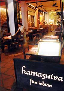 The kamasutra restaurant in Siem Reap